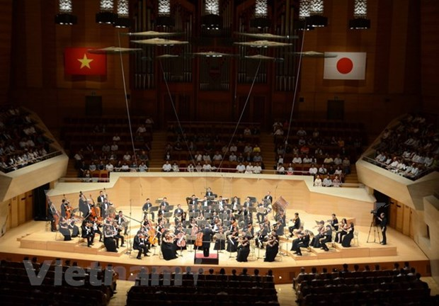 Concierto en Tokio resalta relaciones entre Vietnam y Japon hinh anh 1