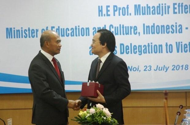 Vietnam robustece cooperacion con ASEAN en la educacion hinh anh 1
