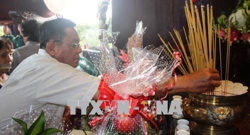 Rinden homenaje postumo a martires vietnamitas en provincia vietnamita de Tay Ninh hinh anh 1