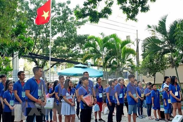 Inauguran campamento de verano en Ciudad Ho Chi Minh hinh anh 1
