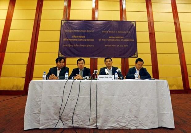 Mas de 200 observadores internacionales para elecciones en Camboya hinh anh 1