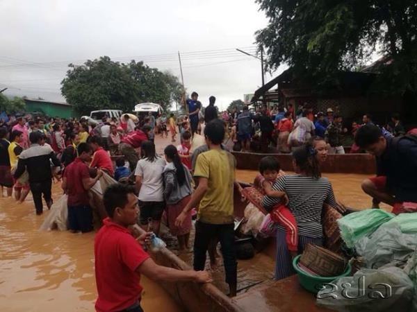 Al menos 28 fallecidos tras tras colapso de presa hidroelectrica en Laos hinh anh 1