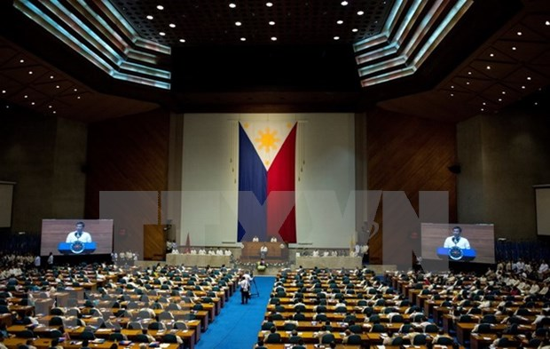 Presidente filipino se compromete a seguir hasta el final el combate antidroga hinh anh 1