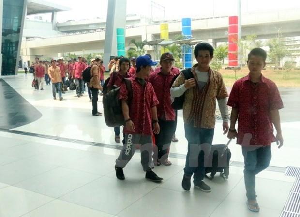 Repatriados 42 pescadores vietnamitas detenidos en Indonesia hinh anh 1