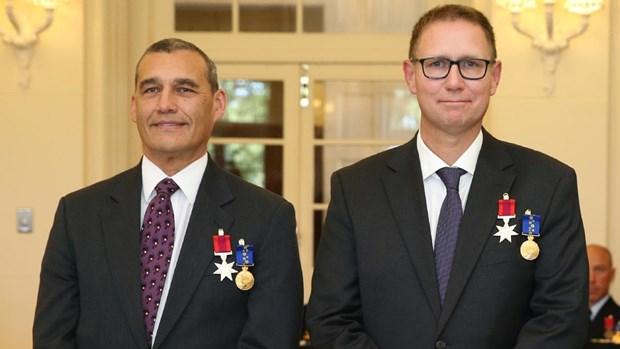 Australia honra a nueve ciudadanos que participaron en rescate de ninos en Tailandia hinh anh 1