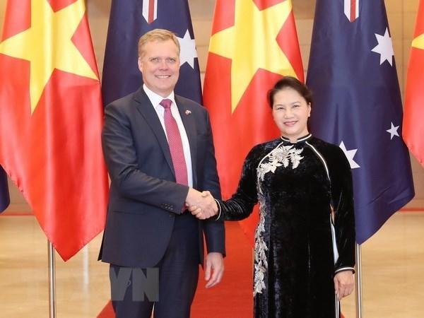 Presidente de Camara de Representantes de Australia concluye visita a Vietnam hinh anh 1