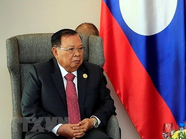 Fortalecen nexos partidistas Vietnam-Laos hinh anh 1