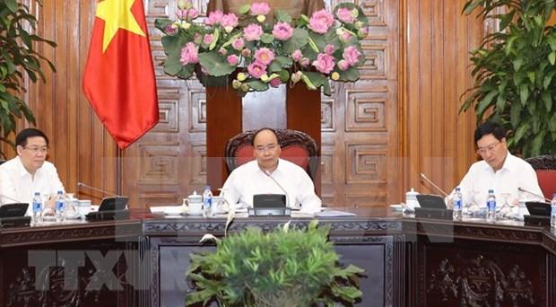 Premier de Vietnam pide sancion severa a importaciones ilegales de materiales de desecho hinh anh 1