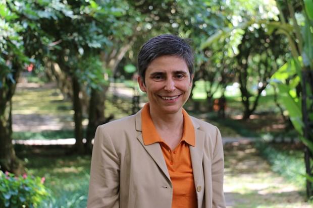 Embajadora suiza resalta cooperacion multifacetica entre su pais y Vietnam hinh anh 1