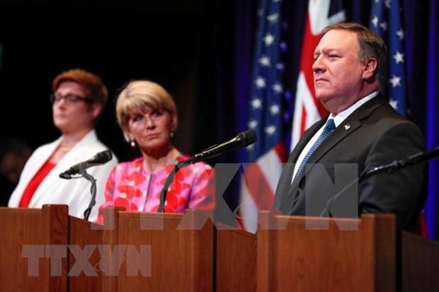 EE.UU. y Australia reafirman derecho a la libertad de navegacion maritima en Mar del Este hinh anh 1