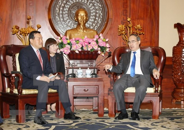 Grupo sudcoreano Lotte aspira a ampliar inversiones en Ciudad Ho Chi Minh hinh anh 1