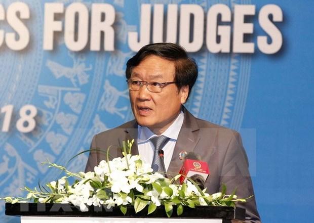 Tribunales de Vietnam y Singapur impulsan la implementacion de acuerdo de cooperacion hinh anh 1