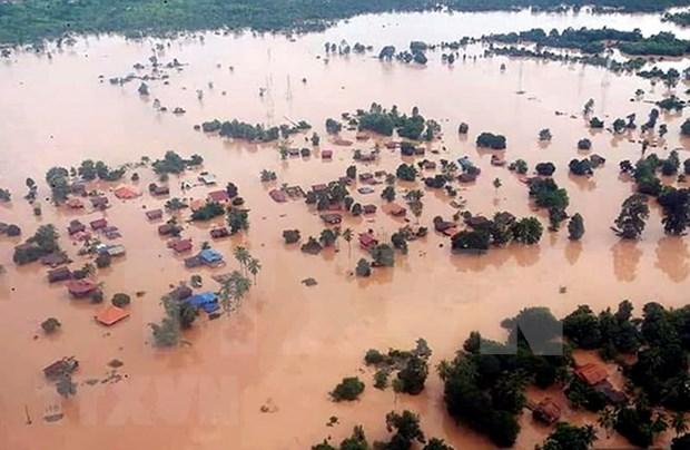Tailandia acelera asistencia a Laos para superar consecuencias del colapso de presa hidroelectrica hinh anh 1