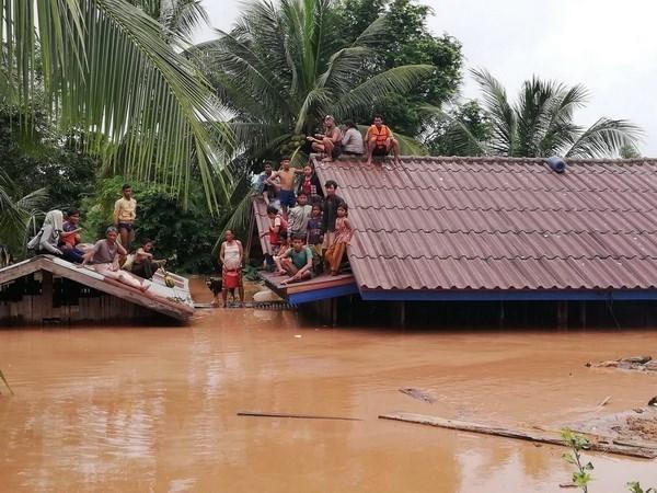 Sudcorea ofrece asistencia a Laos por colapso de presa hidroelectrica hinh anh 1