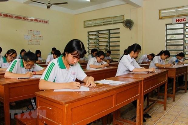 Inician procedimiento legal por fraude escolar en provincia vietnamita de Son La hinh anh 1