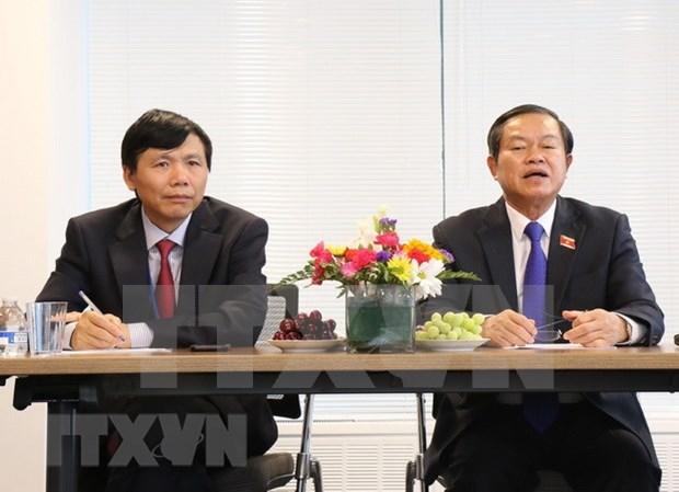 Vicepresidente de Parlamento vietnamita concluye su visita a Estados Unidos hinh anh 1