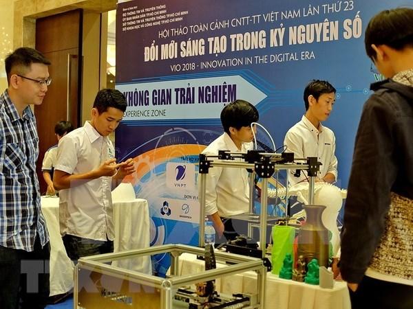 Promueve Vietnam aplicacion de tecnologia de informacion hinh anh 1