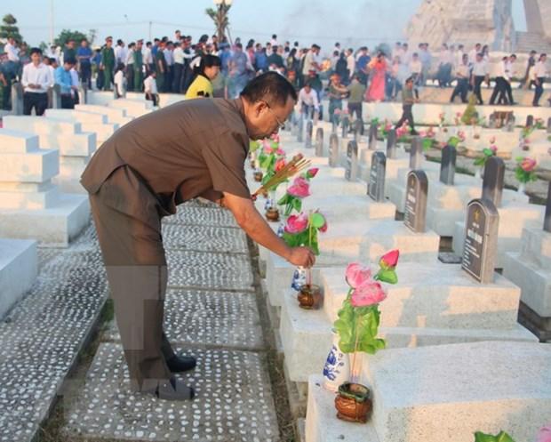 Vietnam celebra actos en homenaje a martires hinh anh 1