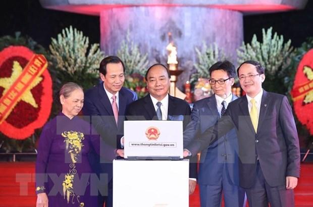 Entregan certificacion de merito a martires vietnamitas hinh anh 1