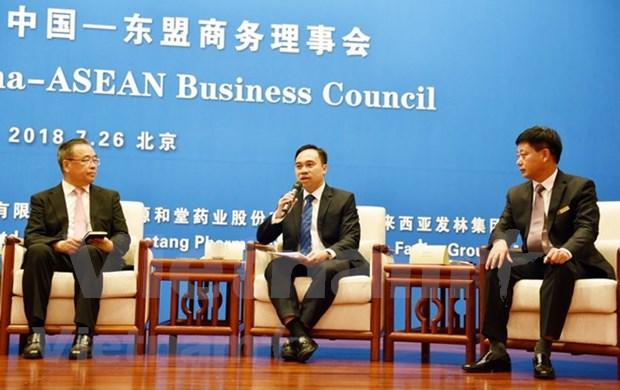 Aumentan comercio entre China y ASEAN en primer semestre de 2018 hinh anh 1