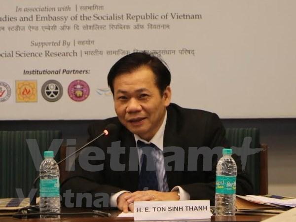Vietnam y la India avanzan hacia el comercio de 15 mil millones de dolares en 2020 hinh anh 1