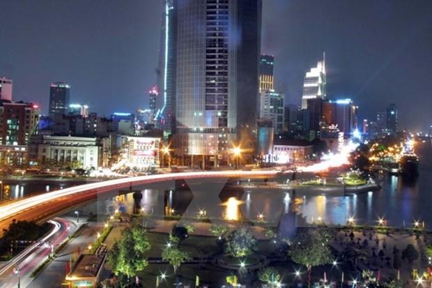 Firman en Ciudad Ho Chi Minh acuerdo para el desarrollo de urbe inteligente hinh anh 1