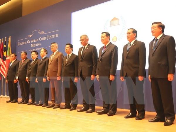 Paises de ASEAN promueven cooperacion judicial hinh anh 1