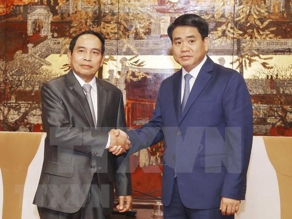Hanoi y Laos comparten experiencias en el trabajo de inspeccion hinh anh 1
