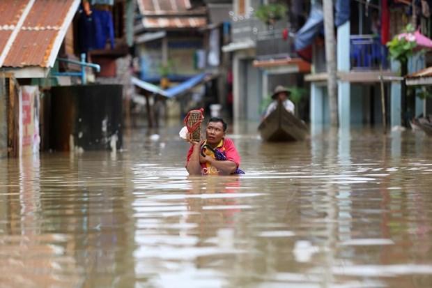 Myanmar: Evacuan a decenas a miles de personas por inundaciones hinh anh 1