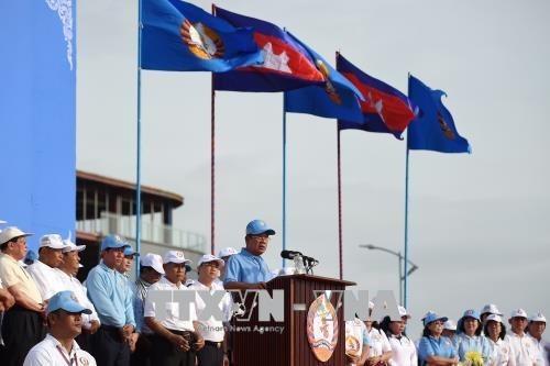 Comenzaron las elecciones parlamentarias en Camboya hinh anh 1
