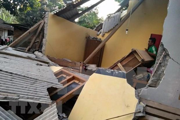 Terremoto en Indonesia: Al menos 10 muertos y 40 heridos hinh anh 1