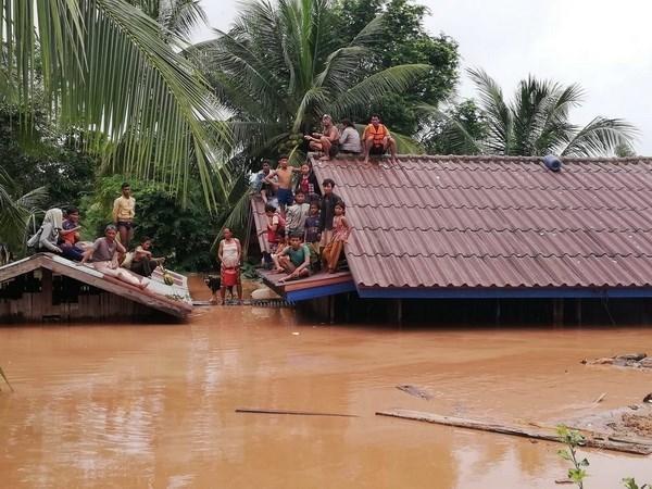 Gobierno de Laos advierte de informacion y fotos falsas sobre colapso de presa hidroelectrica hinh anh 1