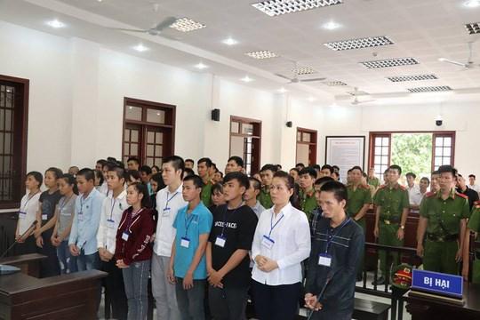 Inician juicio de primera instancia contra acusados de provocar desorden social en Dong Nai hinh anh 1