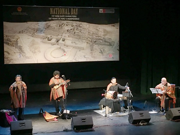Presentan en Vietnam musica tradicional andina de Peru hinh anh 2