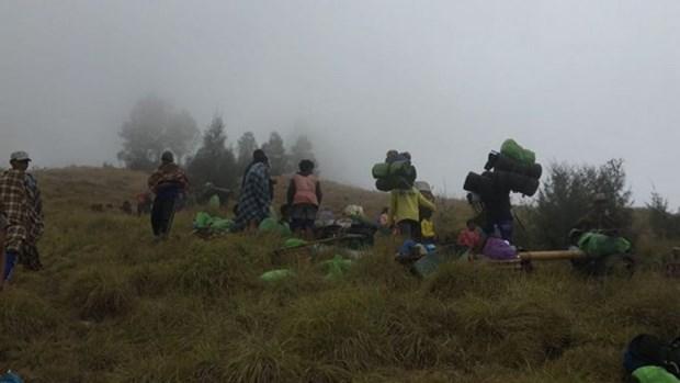 Indonesia trabaja para liberar a cientos de senderistas atrapados por terremoto hinh anh 1