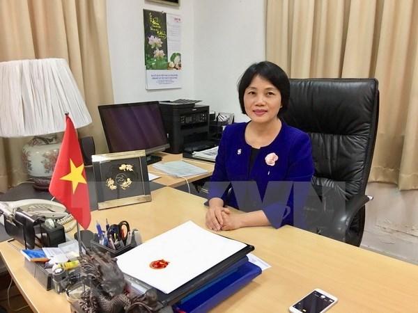 Relaciones entre Vietnam y Singapur marchan a buen ritmo, sostiene embajadora vietnamita hinh anh 1