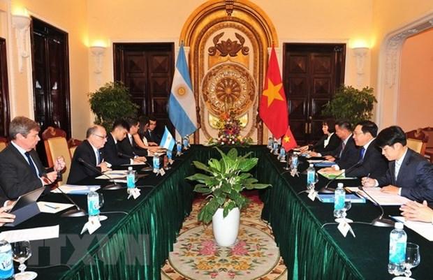 Vietnam es socio primordial de Argentina en Sudeste Asiatico, afirma canciller argentino hinh anh 1