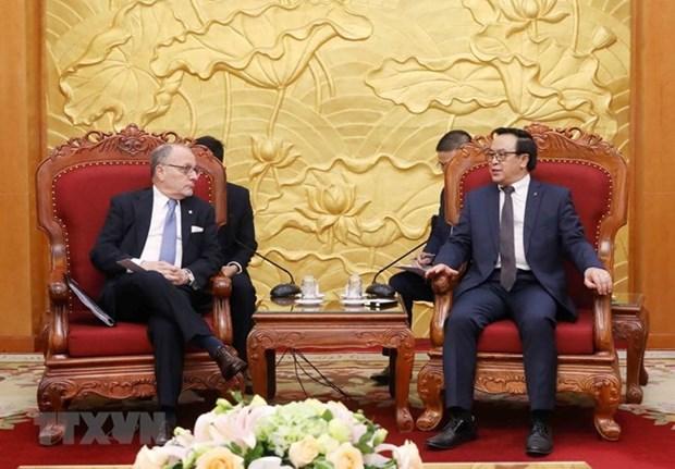 Vietnam desea consolidar la asociacion integral con Argentina hinh anh 1