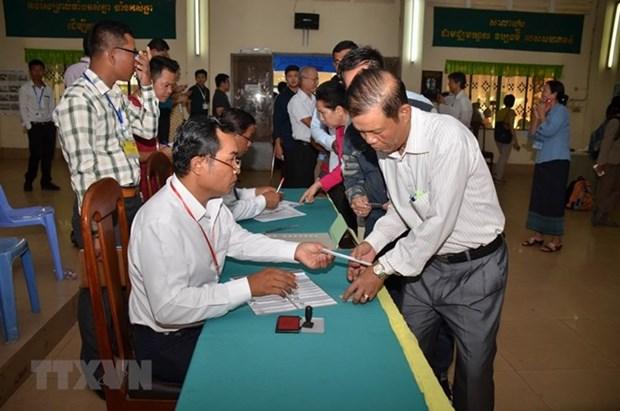 Comite Electoral Nacional de Camboya actualiza resultados de elecciones parlamentarias hinh anh 1