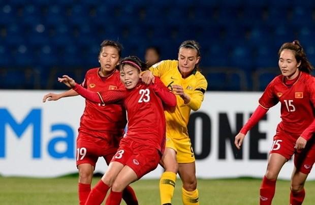 Seleccion de futbol femenina de Vietnam recibira entrenamiento en Japon hinh anh 1
