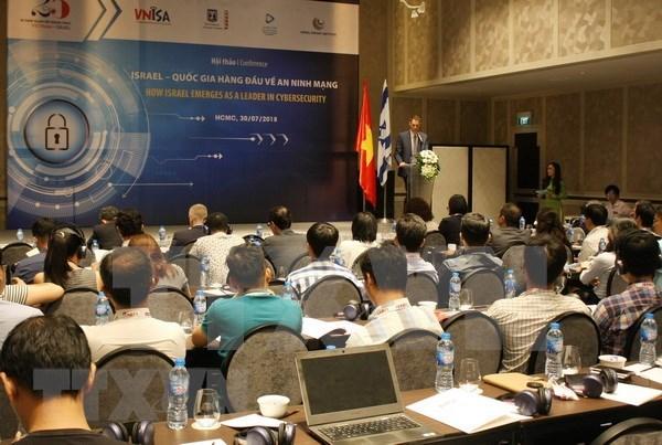 Debaten expertos vietnamitas e israelitas riesgos de seguridad cibernetica hinh anh 1