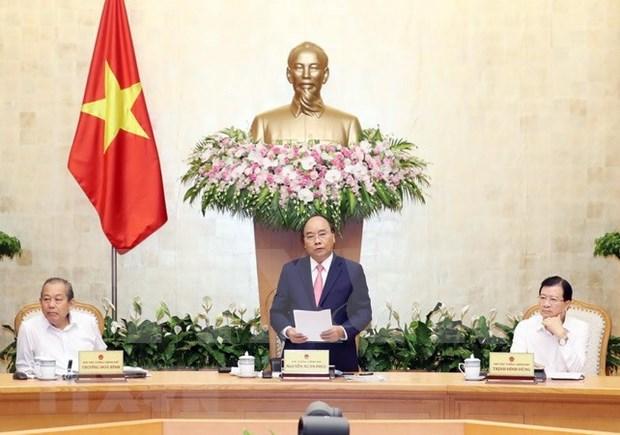 Economia de Vietnam mostro senales alentadoras en julio, sostiene Primer Ministro hinh anh 1
