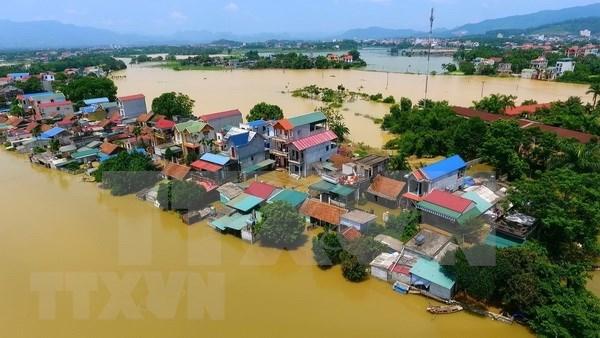 Entidades de Vietnam continuan asistencia a victimas de colapso de presa en Laos hinh anh 1