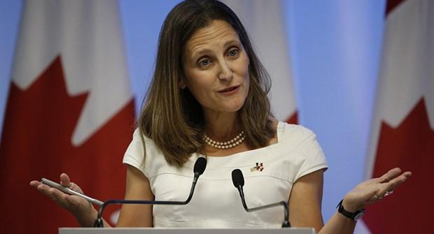 Canciller canadiense reitera deseo de intensificar nexos con ASEAN hinh anh 1