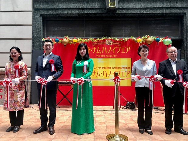Hanoi y prefectura japonesa de Fukuoka fortalecen cooperacion hinh anh 1