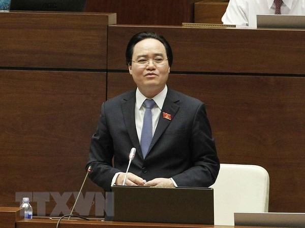 Ministro vietnamita de educacion admite responsabilidad por fraude en examen de bachillerato hinh anh 1