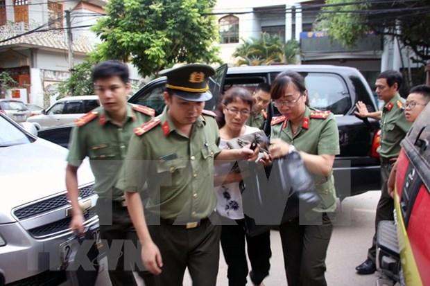 Vietnam detiene a tres individuos por vinculos con fraude en examen de bachillerato hinh anh 1