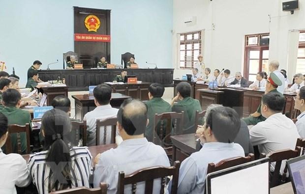 Condenado a prision exdirectivo de empresa del Ministerio de Defensa de Vietnam hinh anh 1