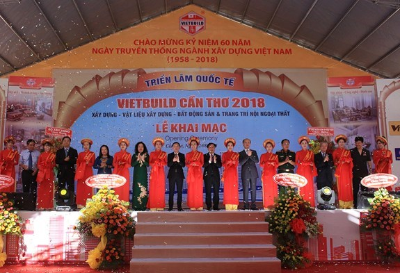 Inauguran Feria Internacional de Construccion en ciudad vietnamita de Can Tho hinh anh 1