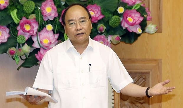 Premier vietnamita pide nueva mentalidad para renovar modelo de crecimiento hinh anh 1
